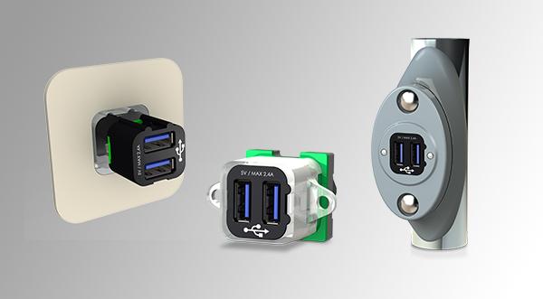 Prise de rechargement M-USB - Gamme M-Charge